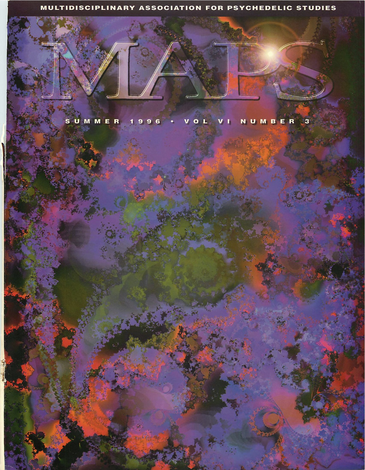 MAPS Bulletin Spring 1996: Vol. 06, No. 3