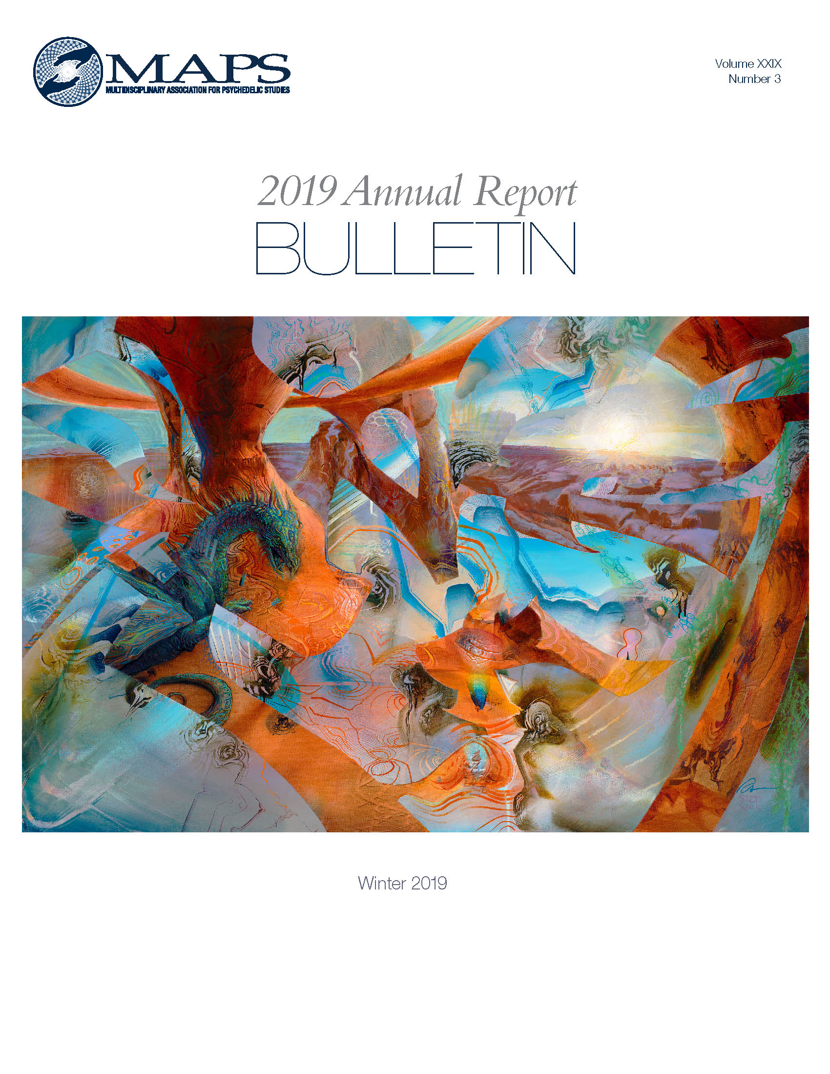 MAPS Bulletin Winter 2019: Vol 29, No. 3